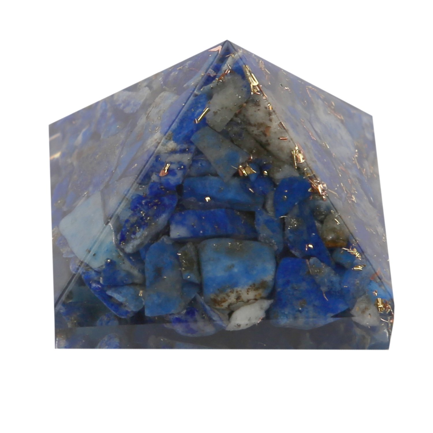Aatm Reiki Energiezed Lapis Lazuli Orgone(1inch) (for Enlightenment & Balancing) Aatm Collection GAPC-109