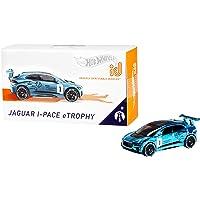 Hot Wheels ID, Coche de Juguete Jaguar i-Pace eTrophy +8 años