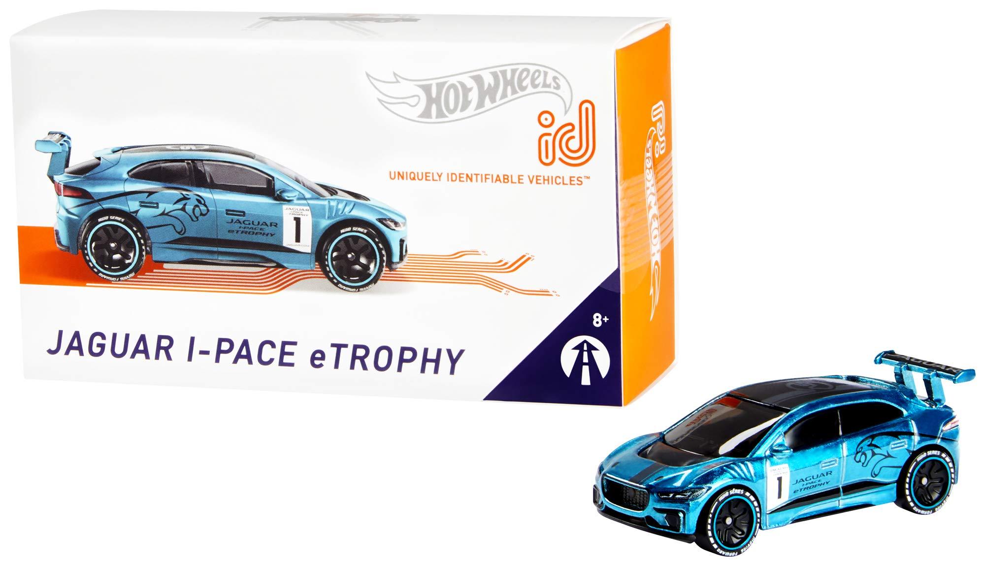 Hot Wheels id Jaguar i-Pace eTrophy