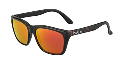 ff472b52d5272 Amazon.com   Bolle 527 Black Red Nano Sunglasses   Sports   Outdoors