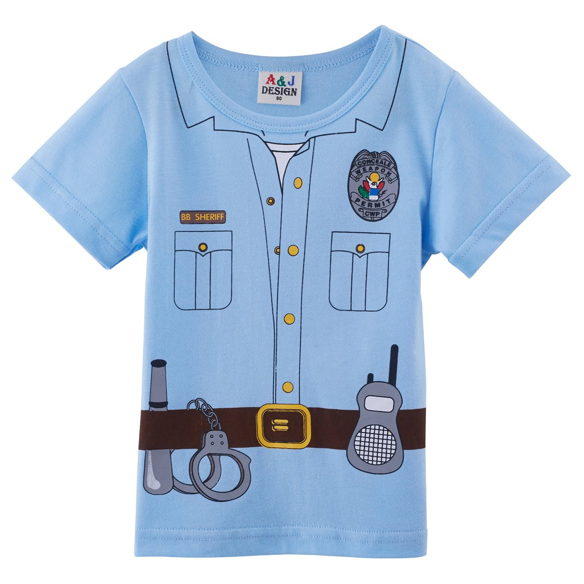 Mombebe Baby Boys 2 Pieces Pilot Costume Shorts Sets
