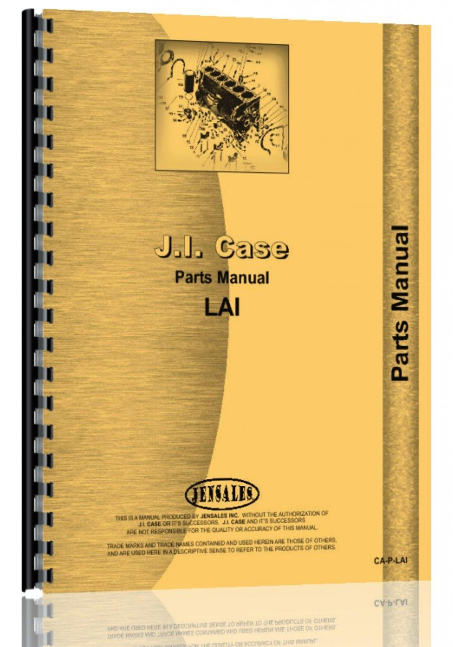 Case LAI Tractor Parts Manual PDF