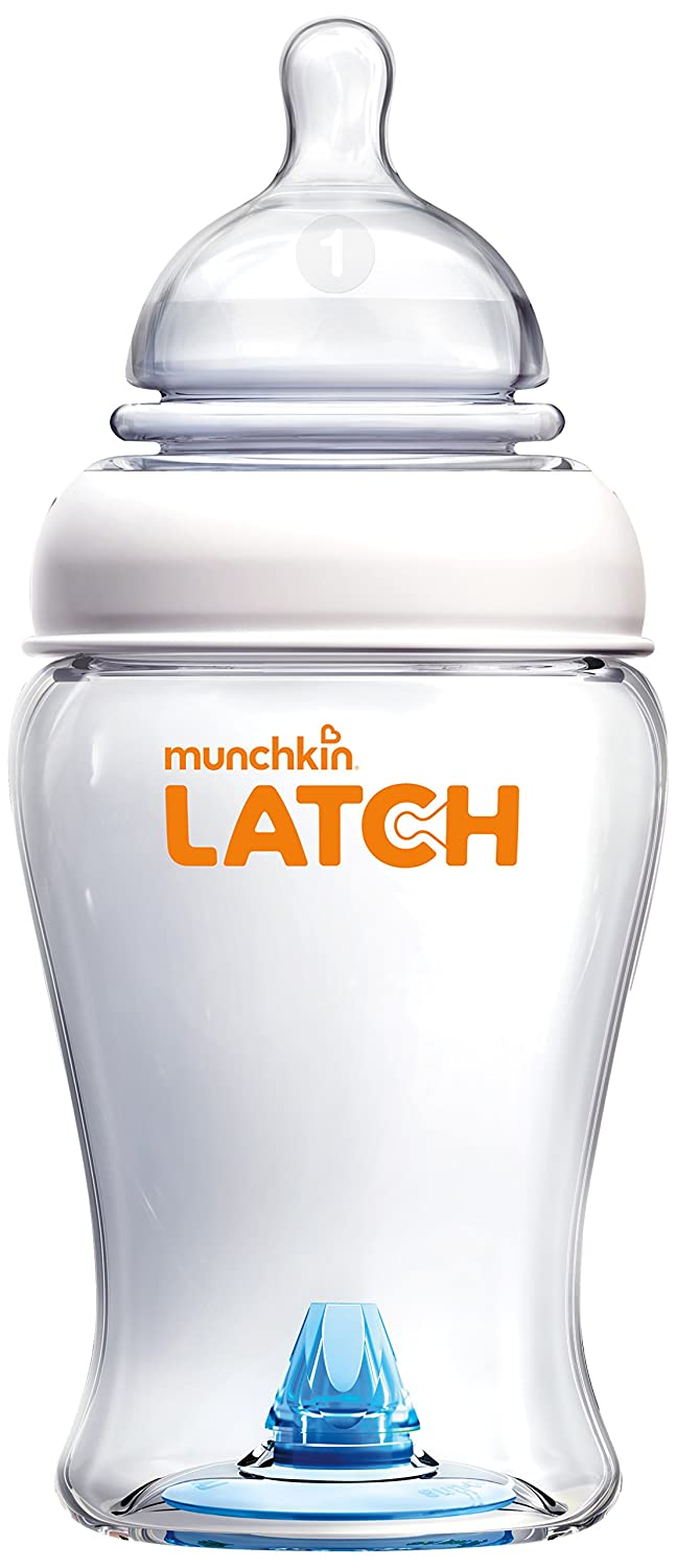 Munchkin Latch BPA-Free Bottle, 8 Ounce, 3 Count 44871