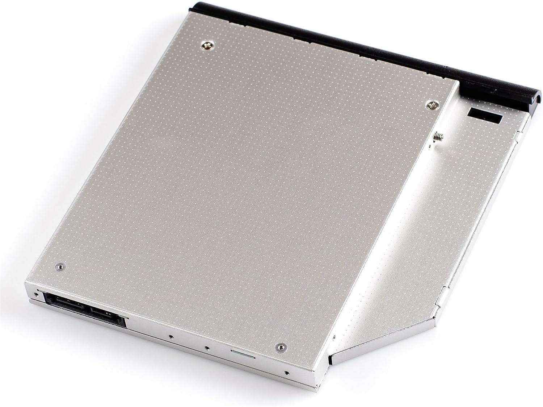 6455b 6735b 8540w reemplaza la unidad /&o 8530p 8740w 6730s 8730w 6535b HP ProBook 6440b 8440p 6445b 8530w 6450b HP EliteBook 6930p Opticaddy/© SATA-3 HDD//SSD Caddy Adaptador para HP Compaq 6530b 6550b 6730b 8540p 6735s 8440w 6555b