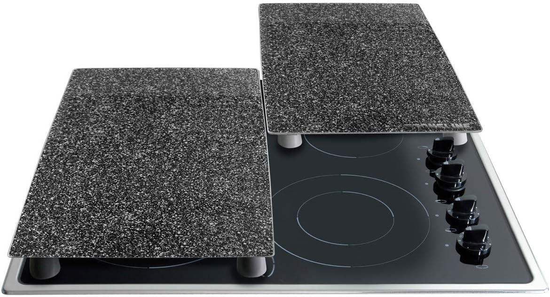2-teilig Schneideplatten Set STONELINE/® Herdabdeckplatten