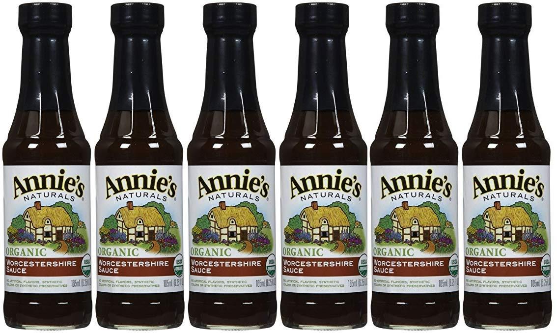 Annie's Naturals Worcestershire Sauce Organic 6.25 oz by Annie's Naturals