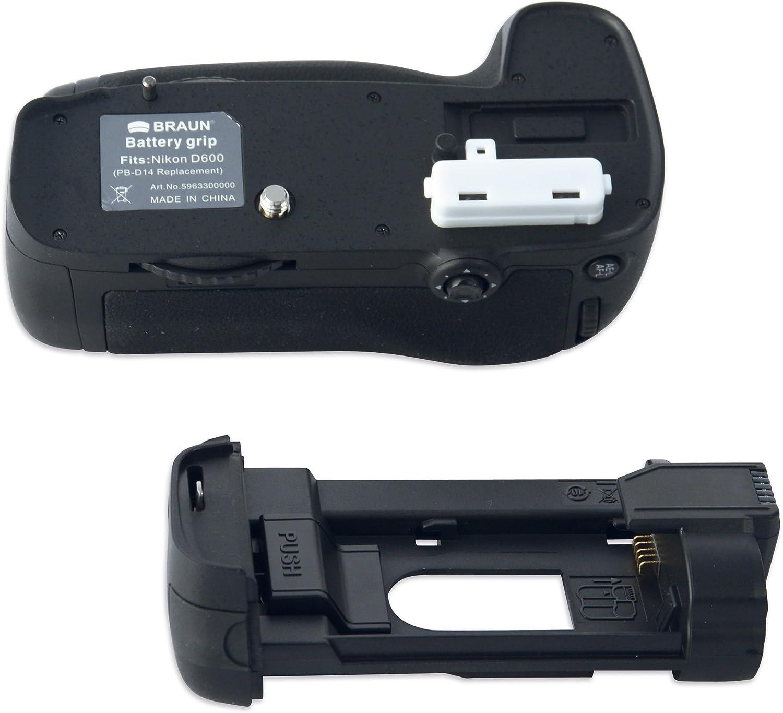 Braun Photo Technik PG D14/Battery Power Grip for Nikon D600