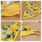 SoarDream Women Vintage Flounce Two Piece Swimsuits