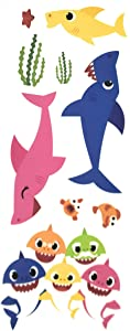 RoomMates Baby Shark Wall Decals - 9 Pieces