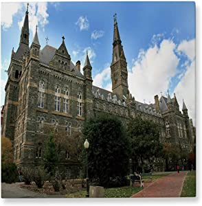 Pummelouty Georgetown University Washington Georgetown University,Living Room Wall Decor Campus Christmas Pictures for Wall 12x12