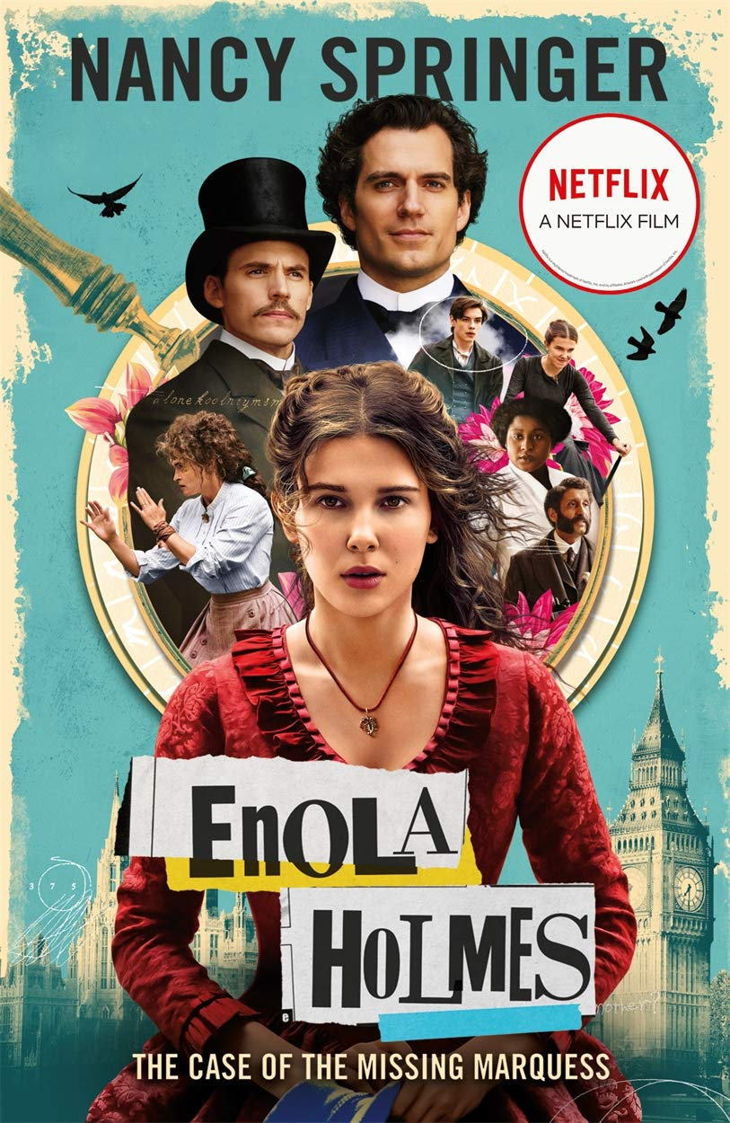 Enola Holmes: The Case of the Missing Marquess – As seen on Netflix, starring Millie Bobby Brown (Enola Holmes 1)