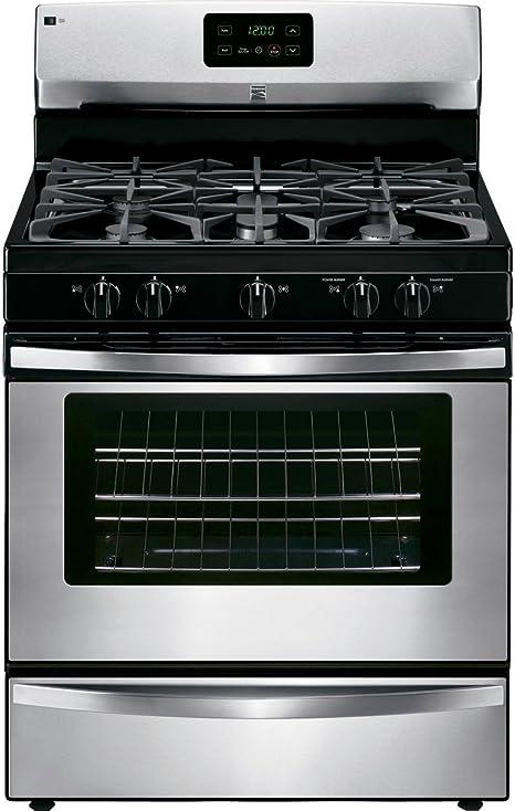 Amazon.com: Kenmore 73433 4.2 cu. cuadrados. Cocina de gas ...