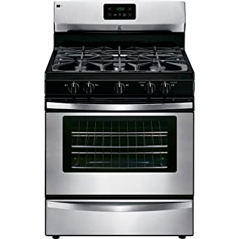 gas kitchen stove. Freestanding Gas Range In Stainless Steel, Includes Delivery Kitchen Stove