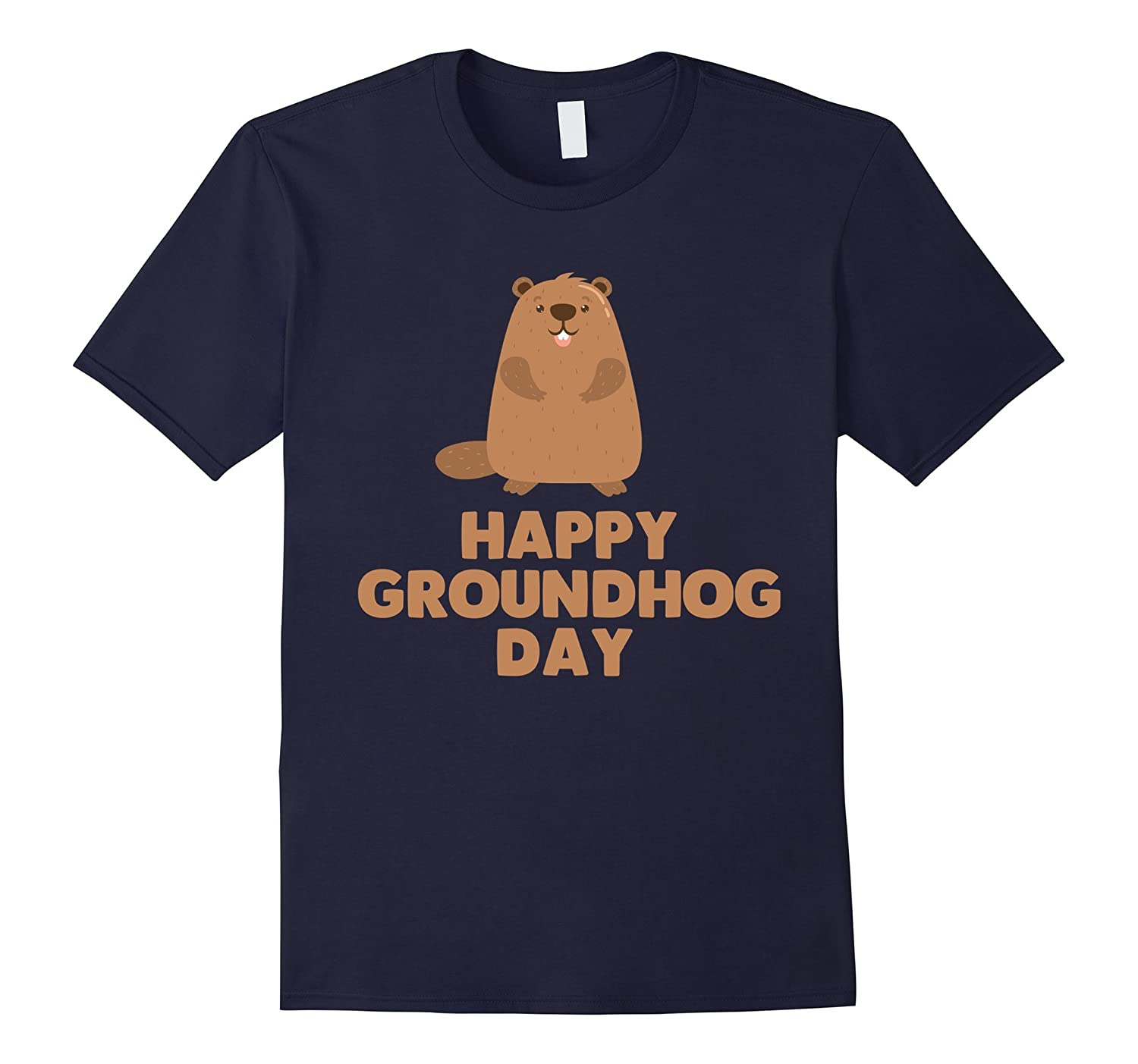 Awesome and Funny Happy Groundhog Day Shirt-ah my shirt one gift