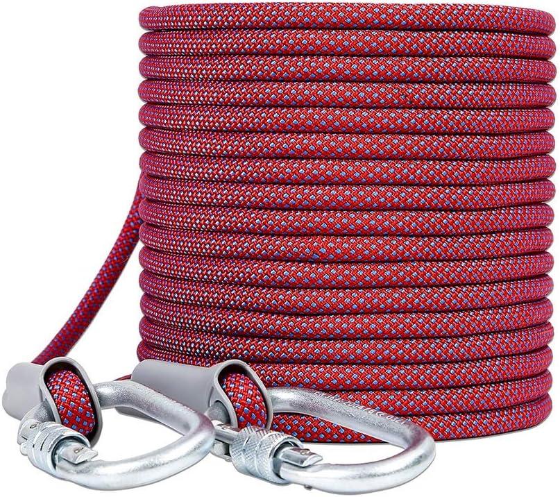 LIINA ロープ 10.5ミリメートルダウンヒルロープ、デュポンシルクライトと強力な防錆耐摩耗性高強度張力 (Size : 100M)  100M