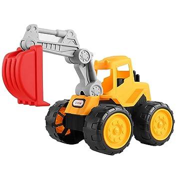 Partu Excavadora Juguetes Camiones De Construccin 0718D Amazon