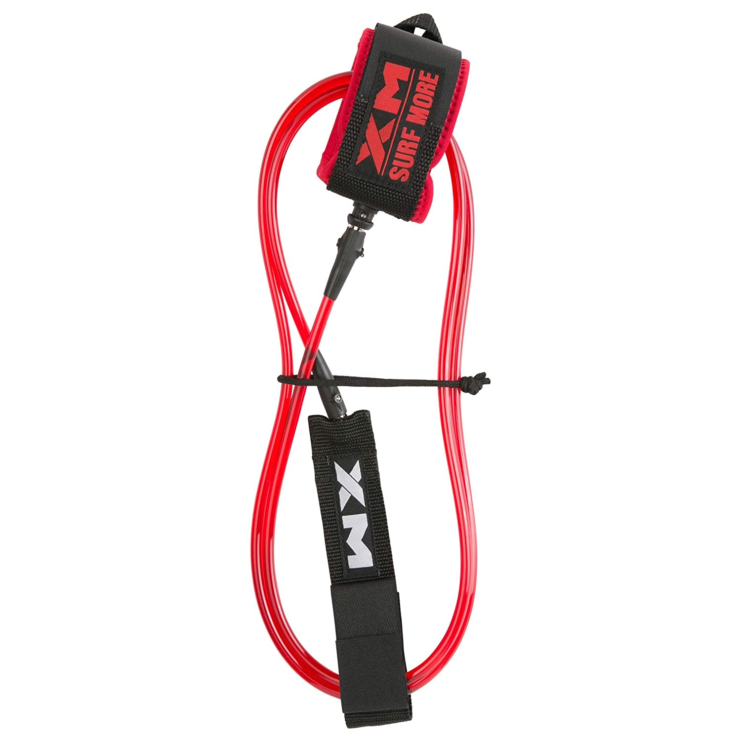 //// Made in USA .220in 3 Year Stoked Warranty XM Surfboard Leash//Knee//Calf//COMP