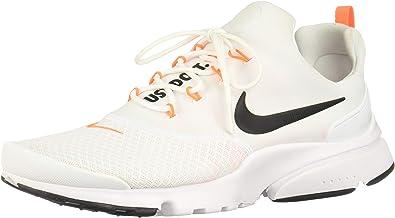 Injerto caballo de fuerza Pepino  Nike Presto Fly JDI_AQ9688-100 Zapatillas para Hombre, White/Black/Total  Orange, 11: Amazon.com.mx: Ropa, Zapatos y Accesorios