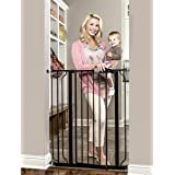 Regalo Easy Step Extra Tall Walk Thru Baby Gate, Bonus Kit, Includes 4-Inch Extension Kit, 4 Pack of Pressure Mount Kit and 4