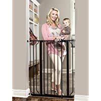 Regalo Easy Step Extra Tall Walk Thru Baby Gate, Bonus Kit, Includes 4-Inch Extension Kit, 4 Pack of Pressure Mount Kit…