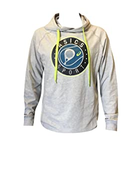 ASICS - Padel Graphic Hoodie, Color Gris, Talla XXL: Amazon ...
