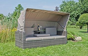 Amazon.de: Garten Multi Sofa + Dach Gartenlounge Terrassen ...