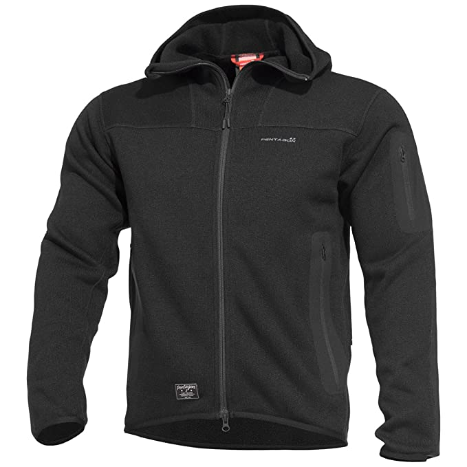 Pentagon Falcon Taktisch Sweatshirt 2.0 Mit Kapuze Vlies Herren Jacke Braun