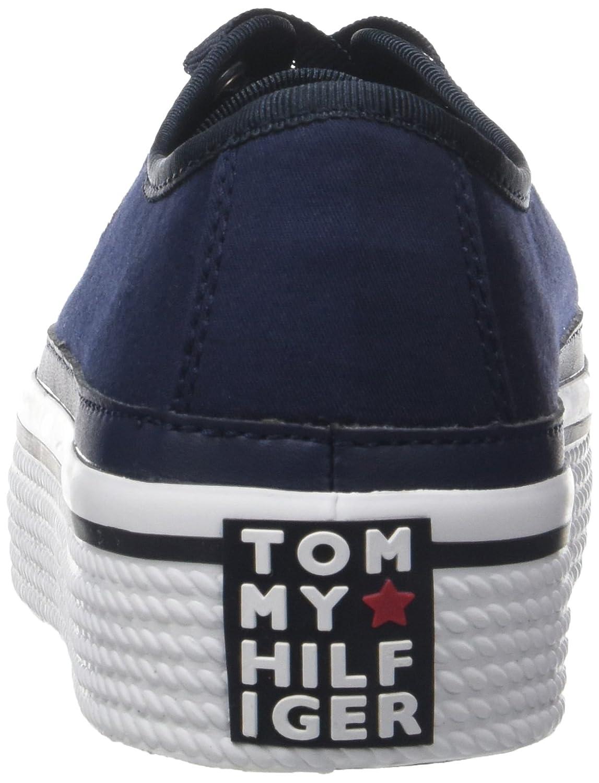 Tommy Tommy Tommy Hilfiger Damen Corporate Flatform Turnschuhe f41306