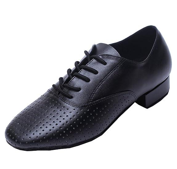 Minitoo , Salle de bal homme - noir - noir,: Amazon.fr: Chaussures et Sacs
