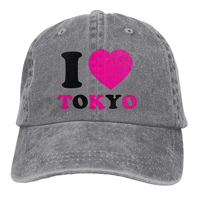ff9d1d4a09f435 Amazon.com: Lichang Trucker Baseball Hat I Love Tokyo Polo Cowboy ...