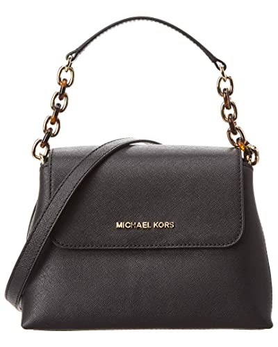 4dcab9472d5b Michael Kors Portia Small Leather Shoulder Bag  Handbags  Amazon.com