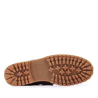 3fbc9133 Castellanísimos C01104 Zapato Náutico de Hombre en Piel con Cordones Estilo  Montañero Marrón: Amazon.es: Zapatos y complementos
