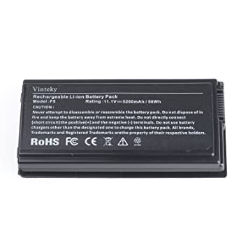 Vinteky®Batería de Ordenador Portátil para Asus F5C F5GL F5M F5N F5R F5RI F5SL F5Sr