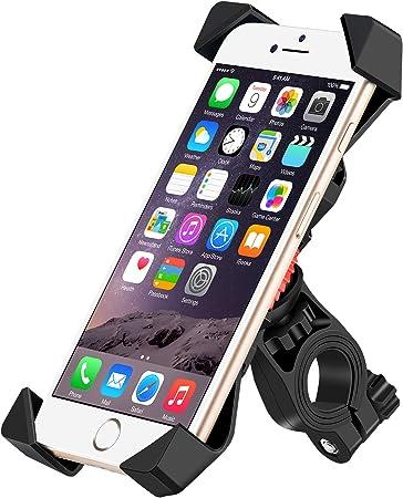 Icefox Fahrrad Handyhalterung Universal Handyhalterung Fahrrad Anti Shake Fahrradhalterung Mit 360 Drehen Für 3 5 6 5 Zoll Smartphone Gps Andere Geräte Navigation