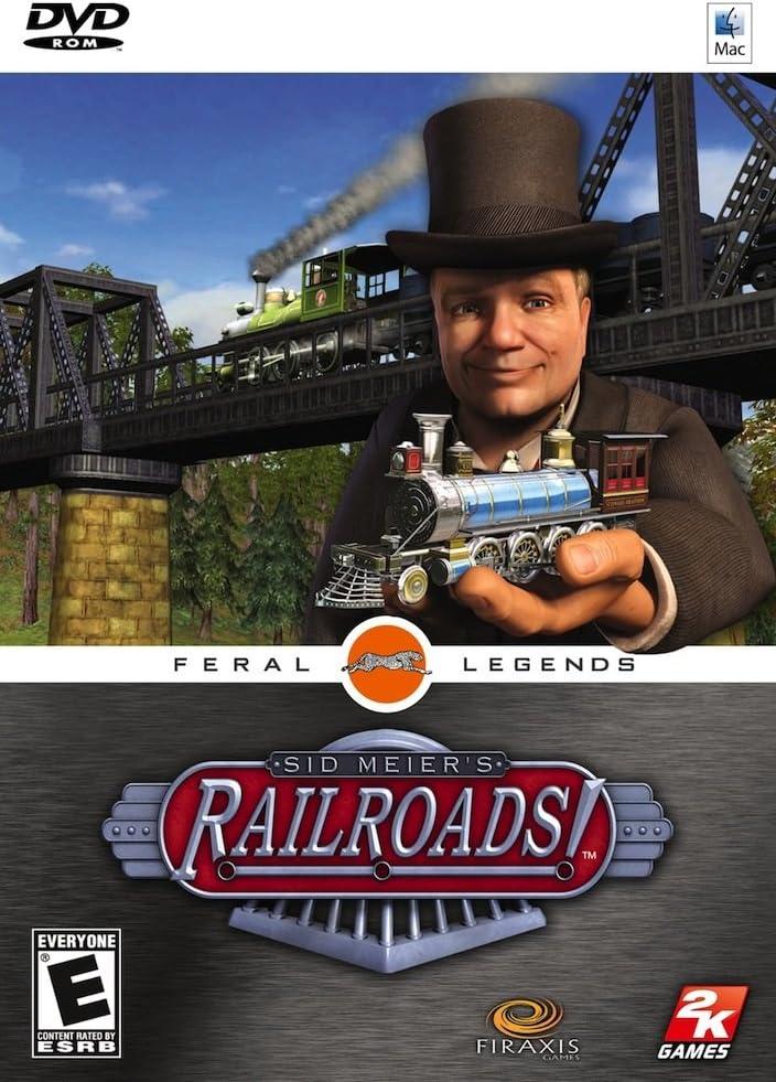 Amazon com: Sid Meier's Railroads! - Mac: Video Games