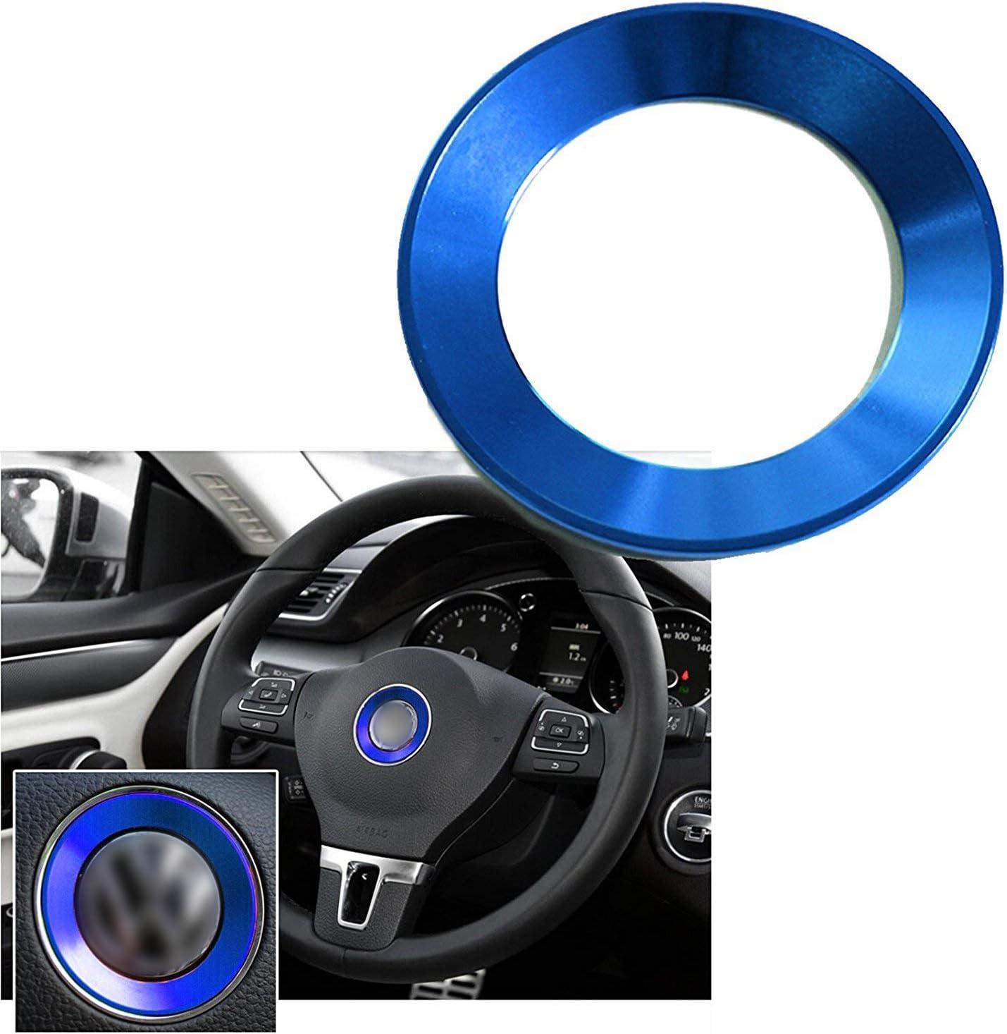 Amazon.com: 1 juego de emblemas para el centro del volante ...