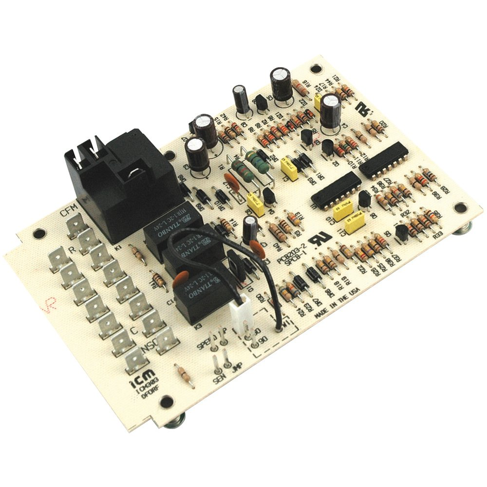 Upgraded Replacement for Coleman Heat Pump Defrost Control Circuit Board 9218-374