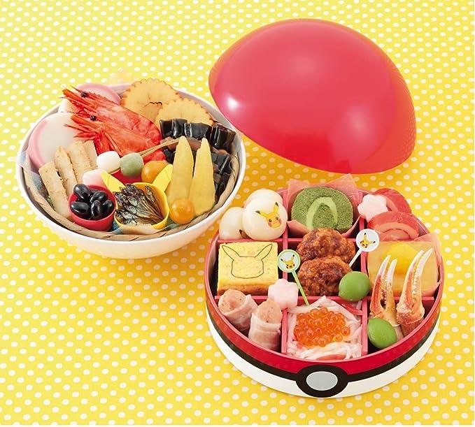 京菜味のむら ポケモンおせち モンスターボール型 二段重 23品
