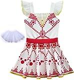 Simile Ballerina Vestito Bambina con Tutulette Carnevale Cosplay BALLER01