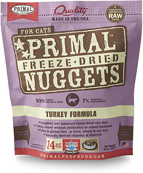 Primal Dried Freeze Cat Food