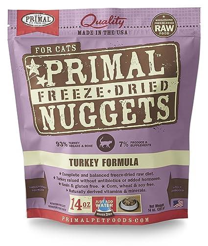 Primal Freeze seco Turquía Cat Food (14 oz)