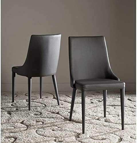 Safavieh Home Collection Summerset Grey Side Chair Set of 2