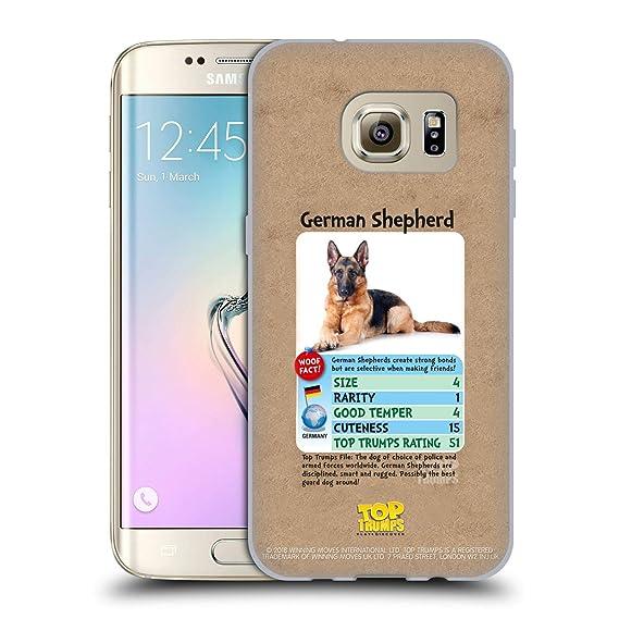 Amazoncom Official Top Trumps German Shepherd Dogs Soft Gel Case