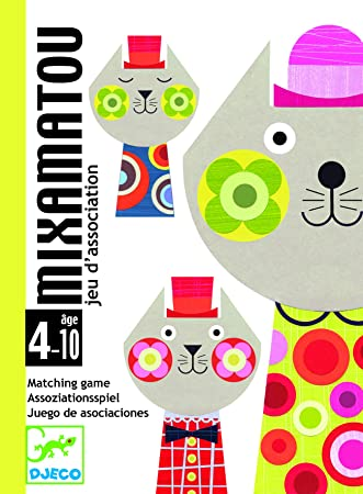 Djeco - Cartas mixamatou: Amazon.es: Juguetes y juegos