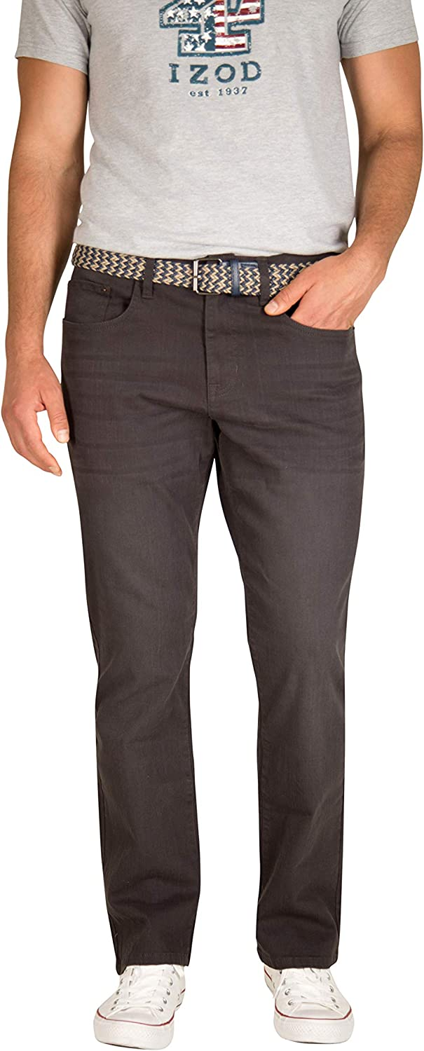 IZOD Men's Relaxed Fit Comfort Stretch Denim Jeans