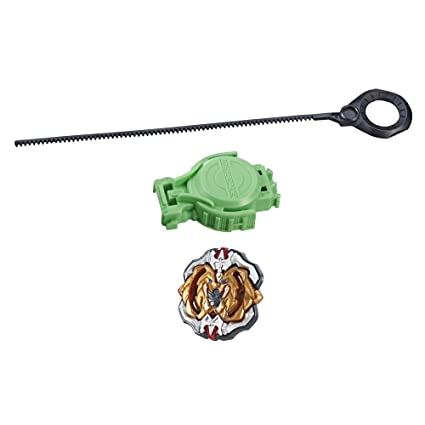 Amazon.com: Beyblade Burst Turbo Slingshock Hercules H4 Starter Pack – Battling Top and Right/Left-Spin Launcher, Age 8+: Toys & Games