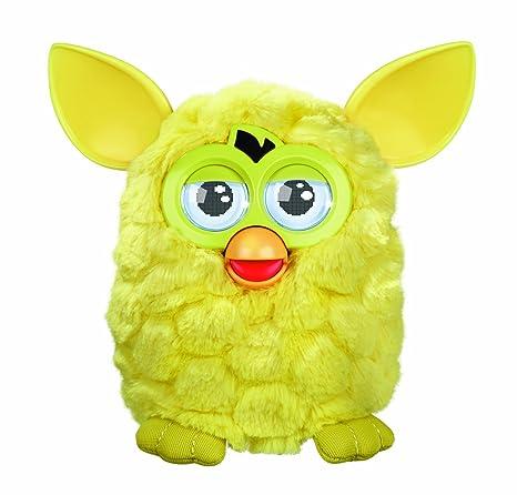 Furby - Mascota electrónica (habla español), color amarillo (Hasbro A0005500)