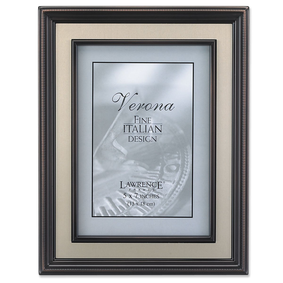Amazon.com - Lawrence Frames 8 by 10-Inch Oil Rubbed Bronze Picture ...