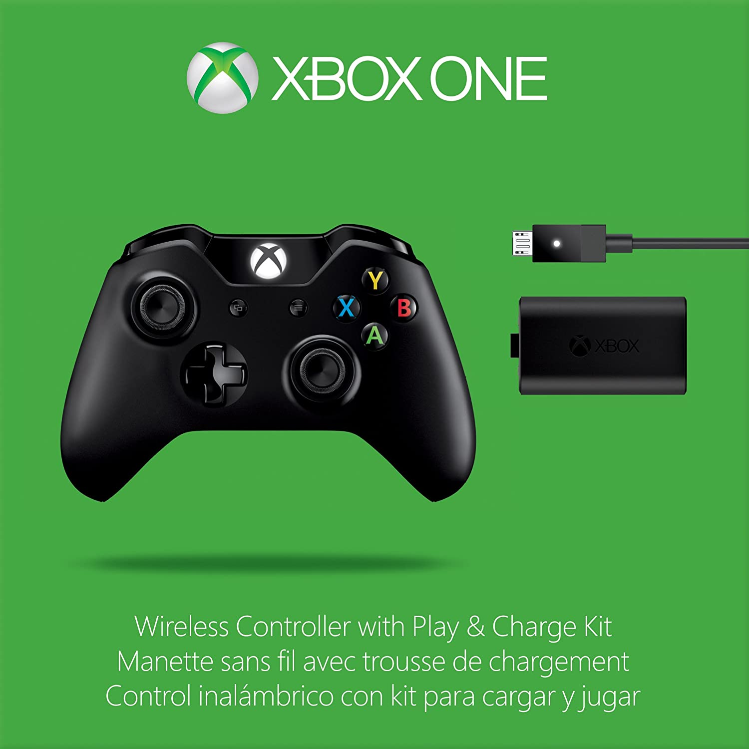 Amazon com: Xbox One Wireless Controller and Play & Charge Kit