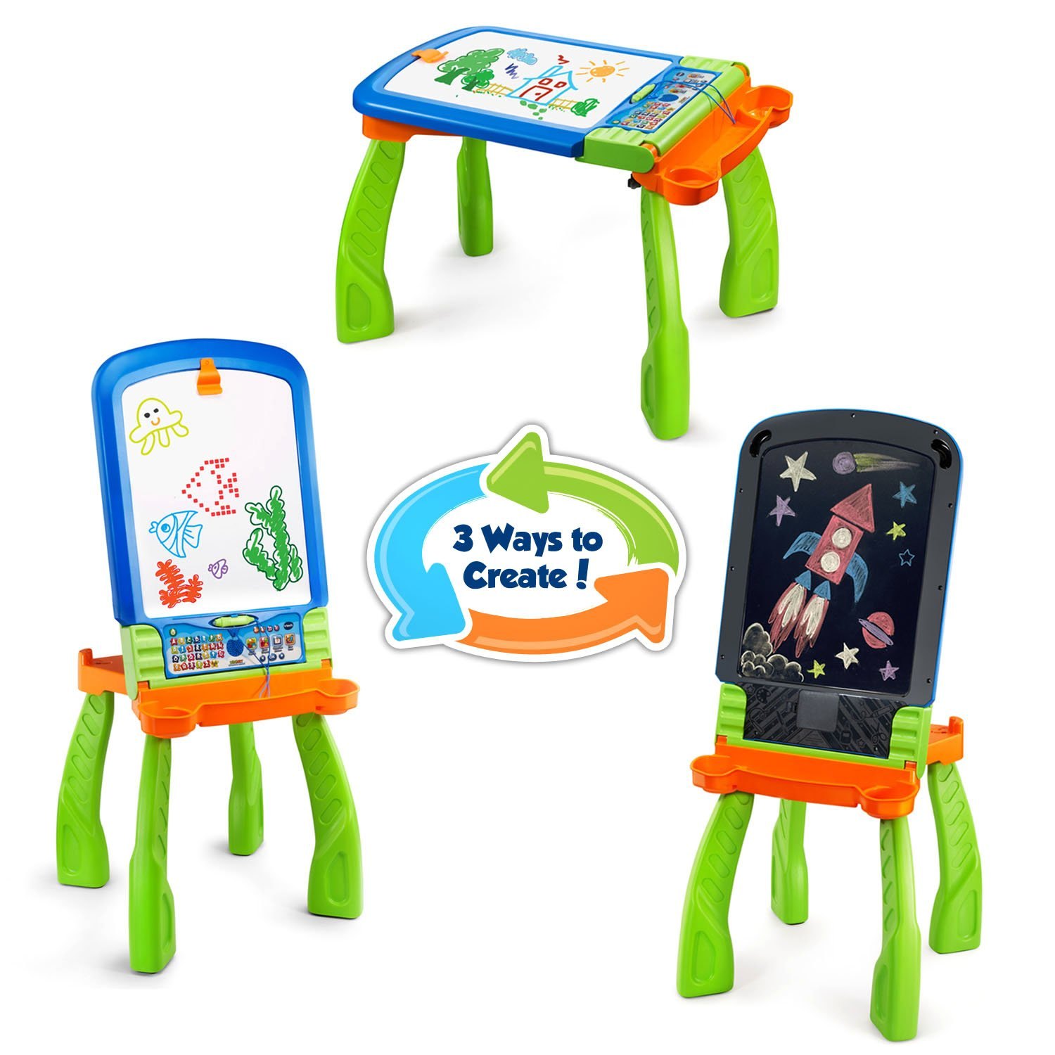 VTech DigiArt Creative Easel (Frustration Free Packaging) by VTech (Image #6)